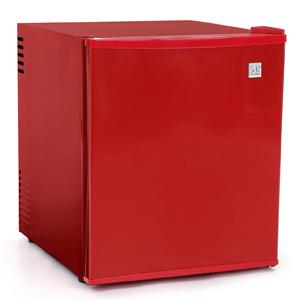 ペルチェ式 48リットル 1ドア電子冷蔵庫「冷庫さん」スカーレッド SR-R4802RD