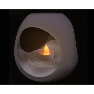 炎の揺らぎを再現 LEDキャンドルライト エッグ ET-02111